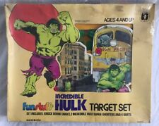 Vintage 1978 Incredible Hulk Target Set Marvel Avengers Rare Marvelmania  in Box
