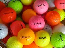 50 VOLVIK GOLF BALLS IN A/B GRADE CONDITION