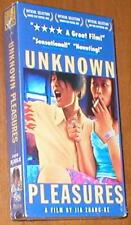 Unknown Pleasures ~ A Film by Jia Zhang-Ke - New VHS