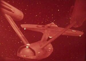 """RARE 1968~STAR TREK """"IMMUNITY SYNDROME""""~ENTERPRISE~35mm FILM CLIP/SLIDE~LOT 245"""