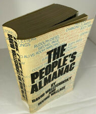 The Peoples Almanac by Wallechinsky & Wallace Paperback 1975