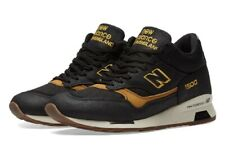 NEW BALANCE 1500 Made in England Running Shoe Men US Size 13 -MH1500KT Black/Tan