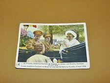CHROMO 1939 CHOCOLAT COTE D'OR ENFANTS ROYAUX BELGIQUE 4 JOSEPHINE-CHARLOTTE