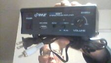 PYLE PCA12BT 2 x 25W Bluetooth Stereo Mini Power Amplifier AUX-In USB