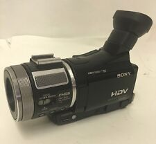 BROKEN Sony HVR-A1U Camcorder HDV 1080i mini DV Digital HD video camera recorder