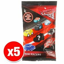 Disney Pixar Cars 3 Mini Racers Vehicles Set of 5 Cars