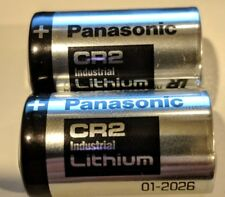 2 BULK Panasonic CR2 Industrial Lithium Battery DL-CR2 Photo EXP 2026 BRAND NEW