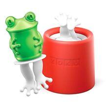 """ZOKU - ICE POP MOLD - Stampo Ghiacciolo """"Prince The Frog"""" Silicone Alta Qualità"""