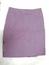 New Ann Taylor Purple Woven Skirt Size 4 Work Career Retails $90!