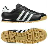 adidas ORIGINALS ROM SIZE 7 8 9 10 11 MENS TRAINERS SHOES RETRO LEATHER BLACK