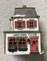 Dept. 56 Dickens' Village Anne Shaw Toys Cottage Vintage Collectibles 1988