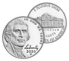 """2020 """"W"""" Jefferson Nickel, PROOF, Single Coin, Sealed in Mint Packaging"""