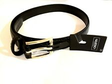 """Nwt Belt Marino Kids Boys Accessories 20"""" Black Color With Buckle Medium Wide"""
