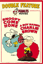 Peanuts Movies Double Feature Snoopy Come Home / A Boy Named Charlie Brown NEW