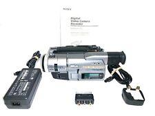 Sony Handycam DCR-TRV110E PAL 8 cámara de vídeo Grabadora Digital