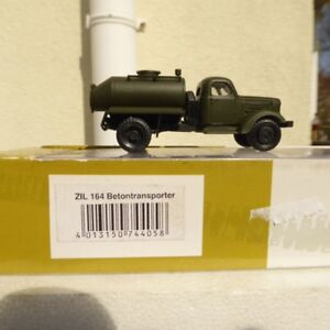 """Roco Herpa Mini Tank 744058 Zil 164 Truck """" Military, For H0, RK, Boxed"""