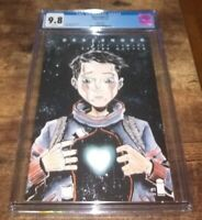 Descender #1 CGC 9.8 Graded Cover B Jeff Lemire Variant Image Comics