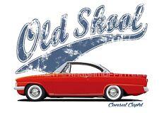 FORD CONSUL CAPRI t-shirt. OLD SKOOL. CLASSIC CAR. MODIFIED.