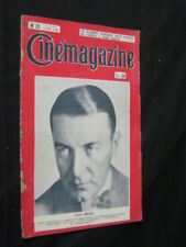 MAY 17, 1929 FRENCH CINEMAGAZINE Uncut Complete 41 pgs