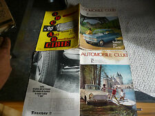 2 Magazines AUTOMOBILE CLUB 1964 vw Coccinelle Ford Taunus Opel Peugeot Citroen