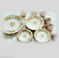 Coalport china partial dinner service - Strange Orchid  FREE SHIPPING