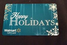 NEW Unused Walmart Happy Holidays Snowflake Gift Card COLLECTIBLE NO VALUE 2013