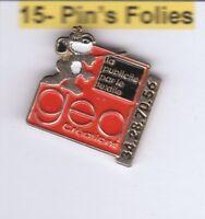 M2# Pinsfolies *** Pin's Badge  Media Publicitaire