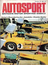 Autosport Oct 30 1969 Fiat 125 Autodelta Mike Hawthorn Peter Collins Ganley Ford