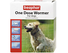Beaphar One Dose Wormer For Large Dogs 20-40kg