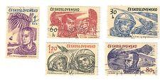 cecoslovaccchia 1961-1962 gagarin titov carpenter glenn nikolajev fra.836