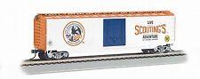 BACHMANN 50' PLUG DOOR BOX CAR BOY SCOUTS OF AMERICA - JAMBOREE HO SCALE
