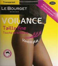 LOT 10 collants VOILANCE LEBOURGET T4 NOIR slip gainant effet ventre plat lot A
