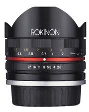 Rokinon 8mm F2.8 Compact Fisheye Lens (Sony E Black)
