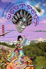 WestFest Woodstock 40th Anniversary Golden Gate Park SF Rock Poster 1 2 3 4 2009