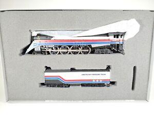 "HO Bachmann Plus American Freedom Train Locomotive ""Limited Edition "" No. 31310"