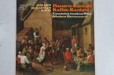 Bach Bauern Kantate Kaffee Kantate Concentus musicus Wien Nik. Harnoncourt(LP23)