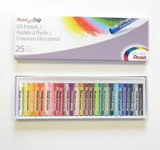 1 PACK OF PENTEL ARTS OIL PASTELS FOR ART PAPER BOARD OR CANVAS 25 COLORS