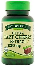 Nature's Truth Ultra Tart Cherry Extract Capsules 1200 mg 90 ea