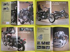 KAWASAKI W650 W 650 brochure publicité catalogue prospekt