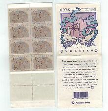 1991    Christmas Booklet - Shepherd  - 20 x 38c  MUH