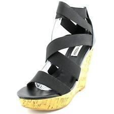 Sandali e scarpe nere Steve Madden per il mare da donna