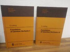Ludwig Gunther Foundations Of Quantum Mechanics I Et II 2 Volumes 1983 Springer