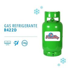 BOMBOLA GAS REFRIGERANTE R422D 5 KG sostituto R22 Climatizzatore Condizionatore