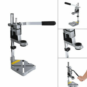 Adjustable Hand Drill Press Bench Stand Workbench Pillar Clamp Drilling Collet