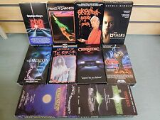 Lot of 10 VHS Horror Movies Dead Zone Others Others Christine Curse (DH913)