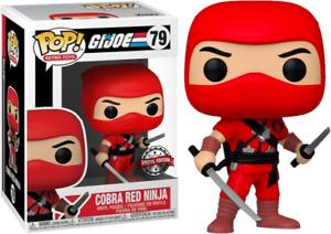 G.I. Joe - Cobra Red Ninja US Exclusive Pop! Vinyl [RS]-FUN56111-FUNKO