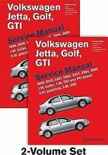 Volkswagen Jetta, Golf, GTI A4 Service Manual: 1999, 2000, 2001, 2002, 2003, 2