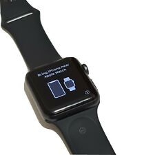 Apple Watch Series 3 42mm Space Grey Aluminium Case with Black Sport Band (GPS …