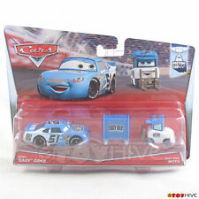 """Disney Pixar Cars Ruby """"Easy"""" Oaks and Easy Idle Pitty - 2015 Piston Cup 2 pack"""