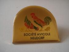 PINS RARE VOLAILLE POULE COQ Société AVICOLE NEUDORF Strasbourg